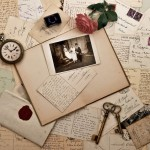 129625__vintage-vintage-letters-postcards-photographs-old-envelopes-keys-watches-rose_p